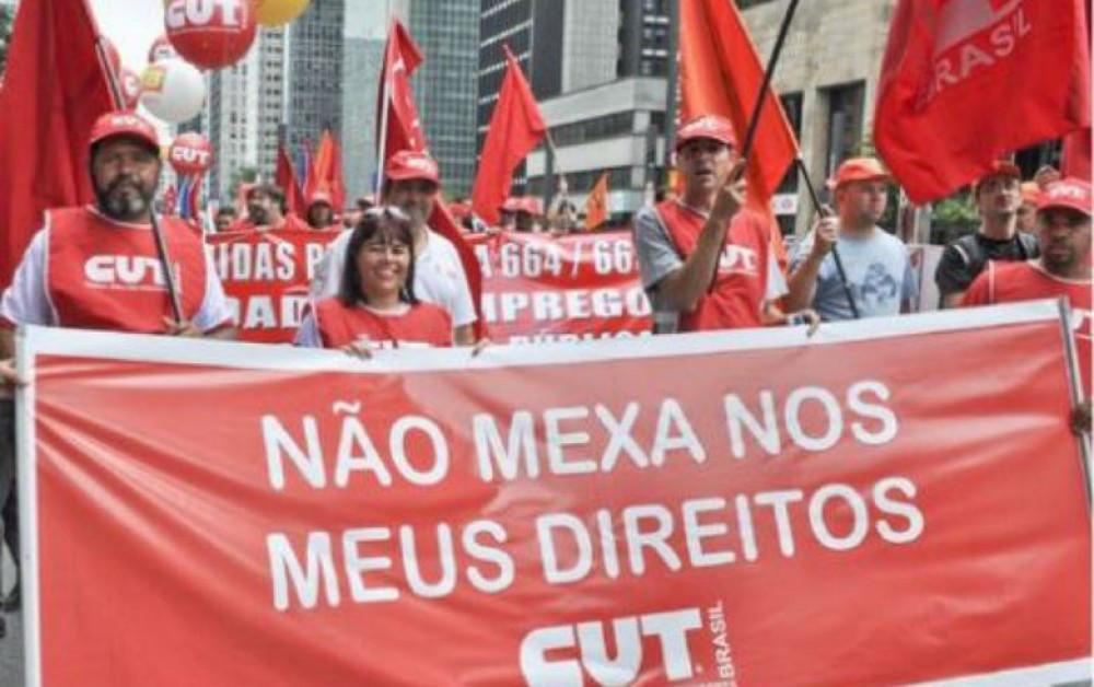 Imagem:CUT reafirma greve se reforma da Previdência for à votação