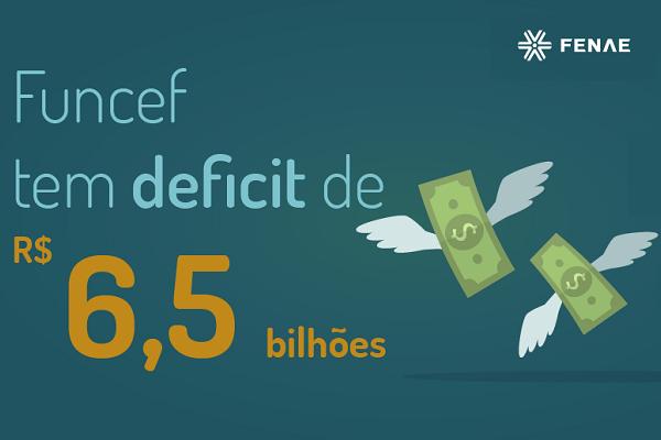 Imagem:Funcef tem deficit acumulado de R$ 6,5 bilhões em 2017