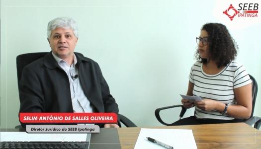 Imagem:TV SEEB: Rescisão de contrato de trabalho