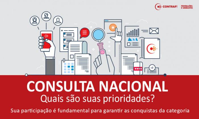 Imagem:Contraf-CUT disponibiliza Consulta Nacional 2018