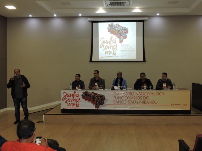 Imagem:Trabalhadores do Itaú se reúnem em encontro nacional