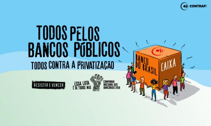 Imagem:Trabalhadores realizam Dia Nacional em Defesa das Empresas Públicas