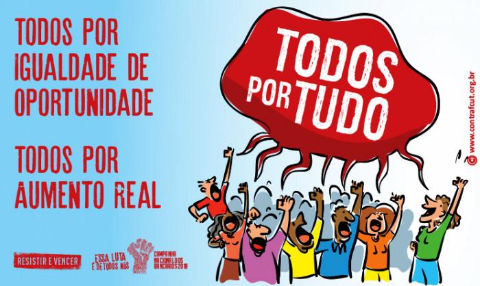 Imagem:Dia 1º é dia de proposta com aumento real, PLR maior, mais empregos e manutenção dos direitos