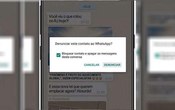 Imagem:WhatsApp explica como denunciar emissores de notícias falsas