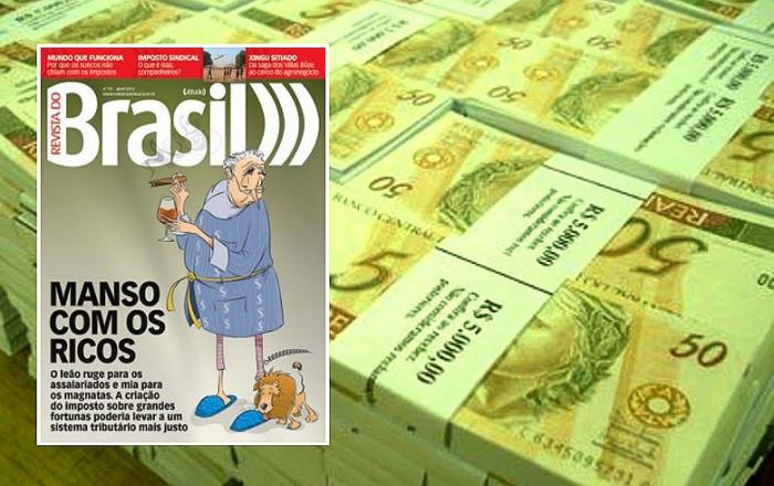 Imagem:País perde R$ 4,6 bi ao não tributar acionistas de Itaú, Bradesco e Santander