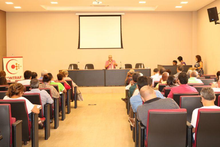 Imagem:Seminário de saúde debate adoecimento bancário