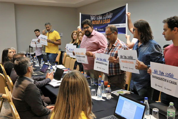 Imagem:Negociação com a Caixa acontece nesta sexta-feira