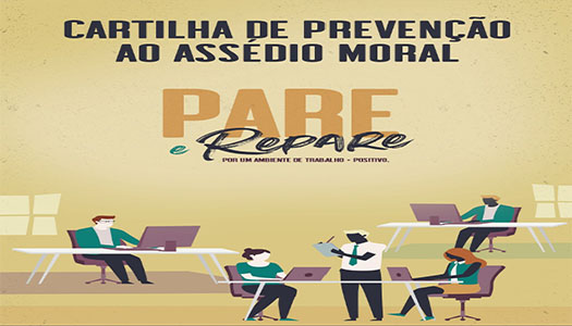 Imagem:Confira cartilha sobre assédio moral lançada pelo TST