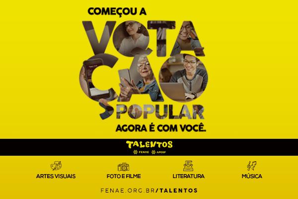 Imagem:Talentos Fenae 2019: vote e ganhe prêmios