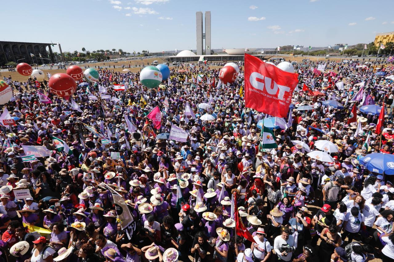 Imagem:Trabalhadores nas ruas é o único caminho para assegurar direitos