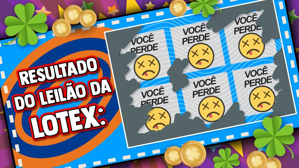 Imagem:Lotex é vendida a preço de banana pela Caixa