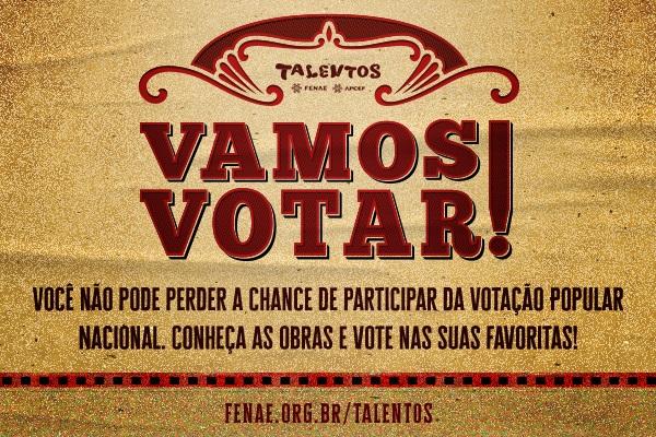 Imagem:Faltam 20 dias para o encerramento da votação popular do Talentos Fenae/Apcef 2019