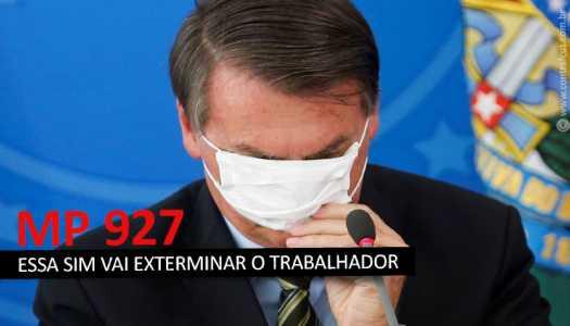 Imagem:MP 928 de Bolsonaro não resolve nada e só confunde cabeça do trabalhador