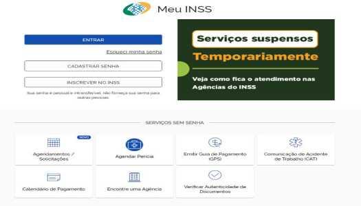 Imagem:INSS libera envio de atestado via internet para auxílio-doença