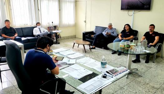 Imagem:Sindicato se reúne com prefeito de Timóteo