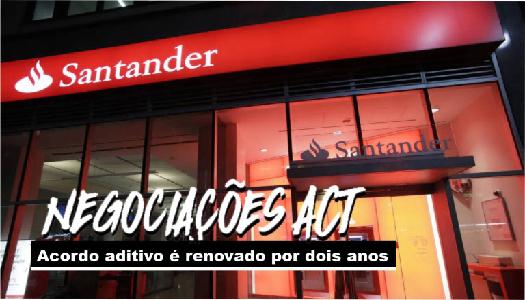 Imagem:Bancários do Santander conquistam renovação do acordo aditivo