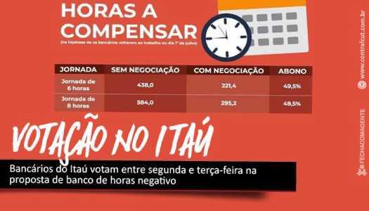 Imagem:Bancários do Itaú deliberam sobre as propostas do banco nesta segunda-feira (11)