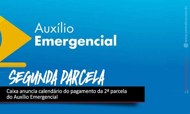 Imagem:Caixa anuncia calendário do pagamento da 2ª parcela do Auxílio Emergencial