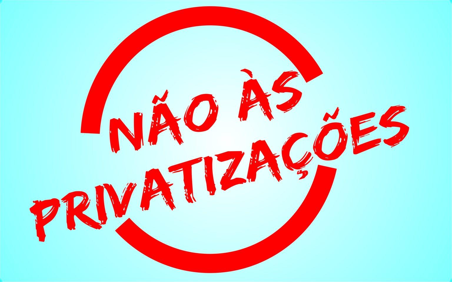 Imagem:Projeto de Lei propõe suspensão das privatizações