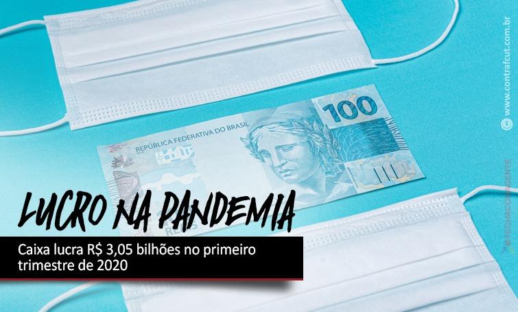 Imagem:Caixa lucra R$ 3,05 bilhões no primeiro trimestre de 2020
