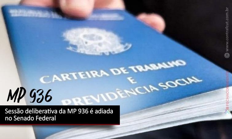 Imagem:Sessão deliberativa da MP 936 é adiada no Senado Federal