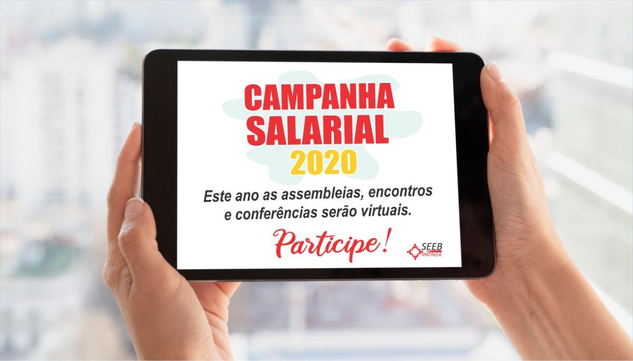 Imagem:Campanha Salarial 2020 é lançada