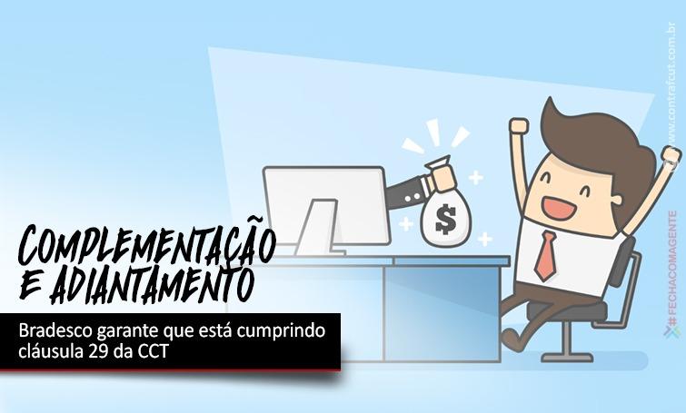 Imagem:Bradesco garante que está cumprindo cláusula 29 da CCT