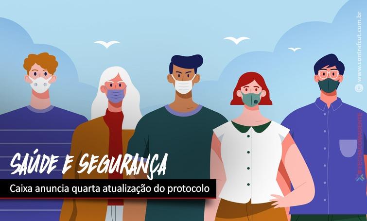 Imagem:Depois de cobrança dos empregados, Caixa faz quarta atualização do protocolo de saúde e segurança
