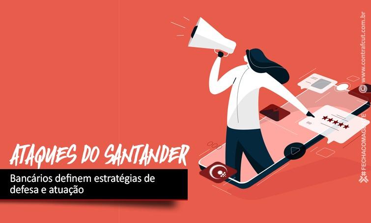Imagem:Bancários do Santander definem estratégias de atuação