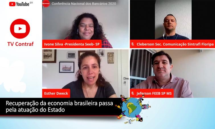 Imagem:Economia brasileira necessita de atuação ativa do Estado para se recuperar