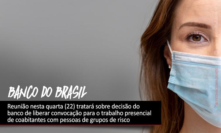 Imagem:Banco do Brasil convoca retorno ao trabalho presencial