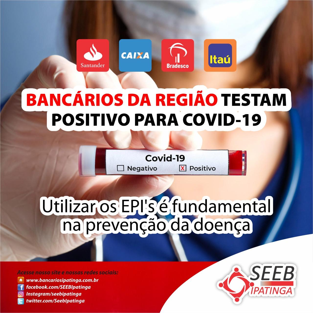 Imagem:Bancário do Bradesco testa positivo para covid-19