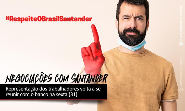 Imagem:Negociações com Santander continuam na sexta (31)