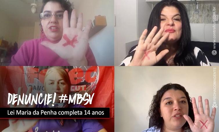 Imagem:Lei Maria da Penha completa 14 anos nesta sexta-feira (07)