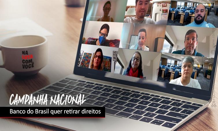 Imagem:Banco do Brasil quer retirar direitos dos funcionários