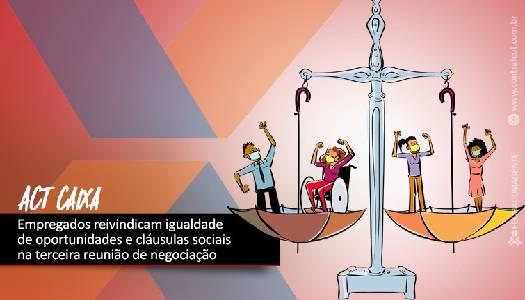 Imagem:CEE e Caixa debatem Igualdade de Oportunidades e Cláusulas Sociais na segunda-feira