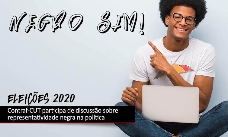 Imagem:Contraf-CUT debate a representatividade negra no Parlamento brasileiro