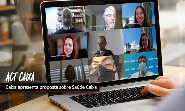 Imagem:Caixa apresenta proposta de alteração no modelo de custeio do Saúde Caixa