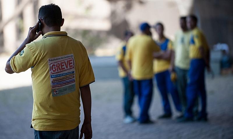 Imagem:Trabalhadores dos Correios repudiam decisão do TST e encerram greve nesta terça