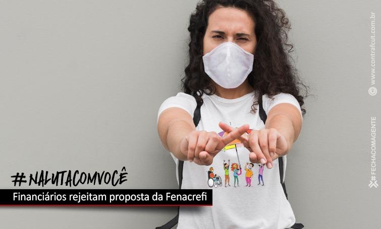 Imagem:Financiários rejeitam proposta da Fenacrefi
