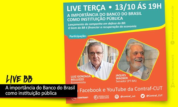 Imagem:Belluzzo e Jaques Wagner abrem seminário em defesa do Banco do Brasil