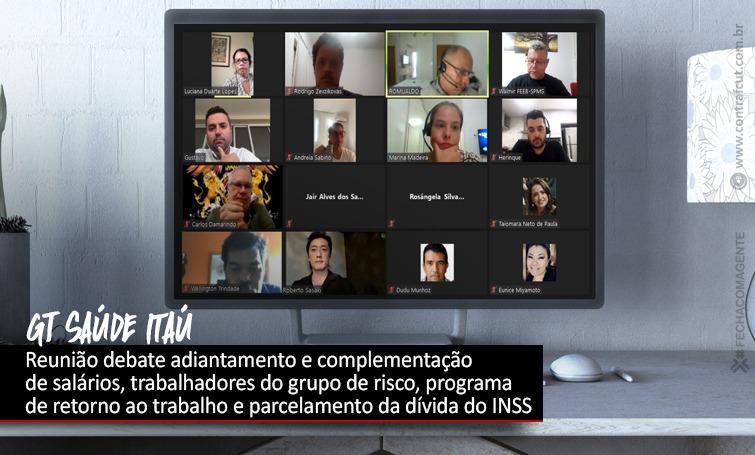 Imagem:GT de Saúde do Itaú volta a se reunir após Campanha Nacional 2020