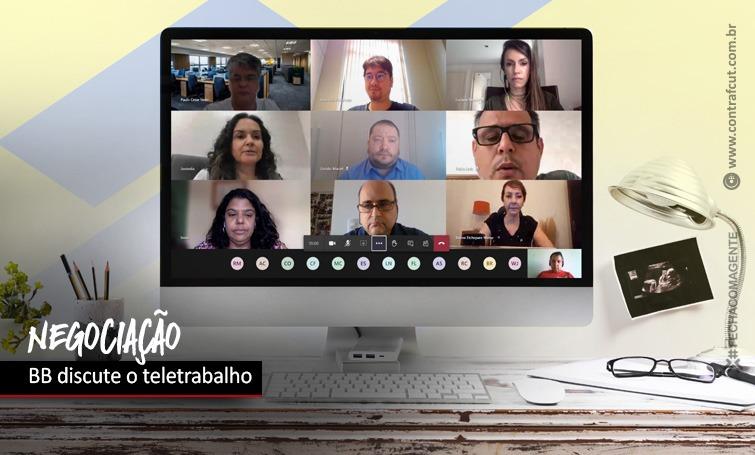 Imagem:Banco do Brasil negocia teletrabalho com a COE