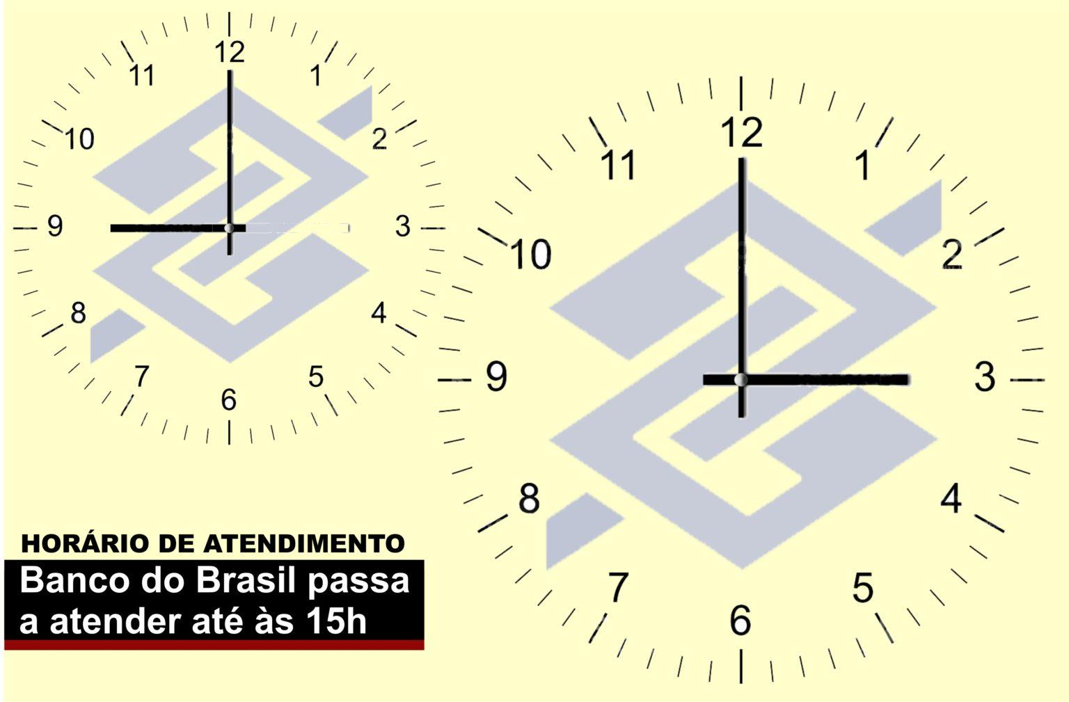 Imagem:Banco do Brasil amplia horário de atendimento até 15h
