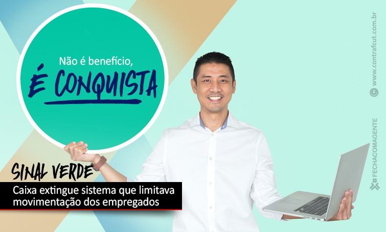 """Imagem:Caixa anuncia extinção do """"semáforo"""""""