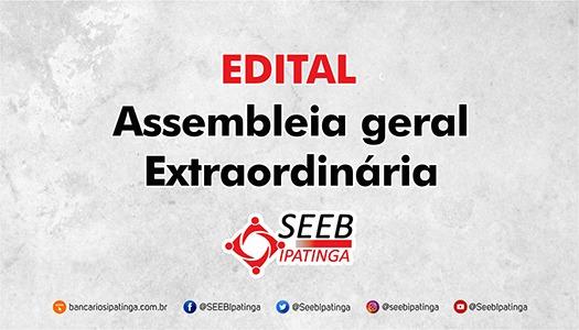 Imagem:EDITAL ASSEMBLEIA GERAL ORDINÁRIA - PREVISÃO ORÇAMENTÁRIA 2021