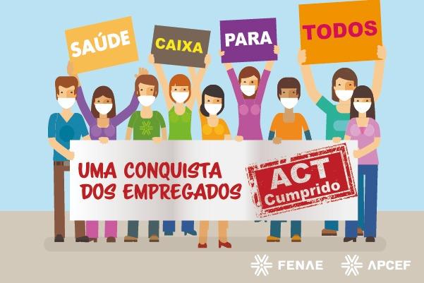 Imagem:Caixa reabre o Saúde Caixa e cumpre o ACT