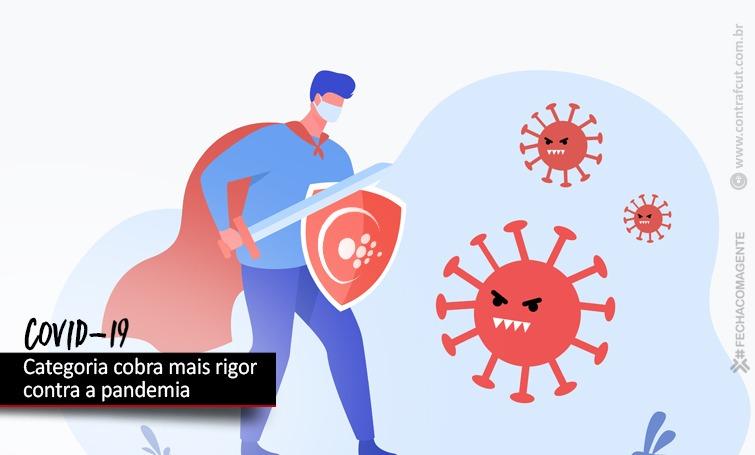 Imagem:Bancários cobram da Fenaban mais rigor no enfrentamento da pandemia