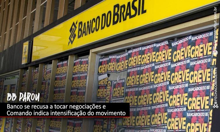 Imagem:Plenárias nesta 5ª feira (11) organizarão manifestações no BB