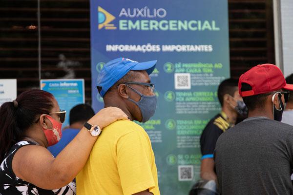 Imagem:Auxílio Emergencial: Novo lote é liberado para pessoas que tiveram cadastro reavaliado
